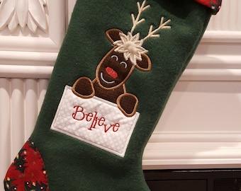 kid s christmas stocking baby s first christmas