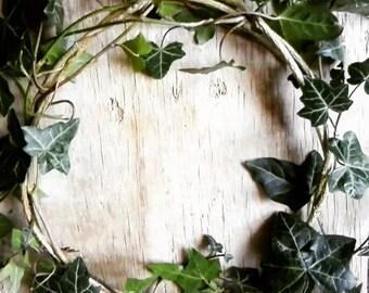 Ivy Garland Crown - Fertility Pagan Winter Witch Green Woodland druid Headband Costume Ritual Rites Ceremonial Wreaths