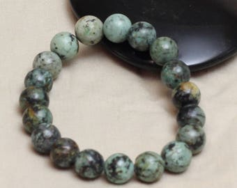 African Turquoise Stretch Bracelet