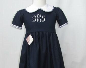 monogrammed Elegant  dress, Christmas Monogram Dress, Personalized Dress, Monogrammed dresses girls, Monogram Dress FREE Personalization