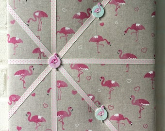 Flamingo memo board
