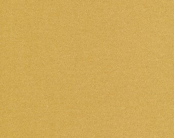 Glimmer Solids Gold Organic Cotton Fabric Broadcloth Cloud9