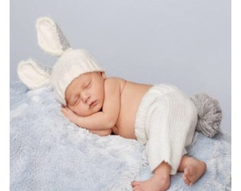 Baby Bunny Newborn Photo Set