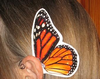 Monarch Butterfly Ear Wings
