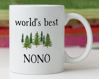 Nono Gift Nono Mug Nono Fathers Day Nono Present Best Nono Ever Grandfather Nono Grandpa Nono Coffee Cup Nono Birthday Nono Christmas