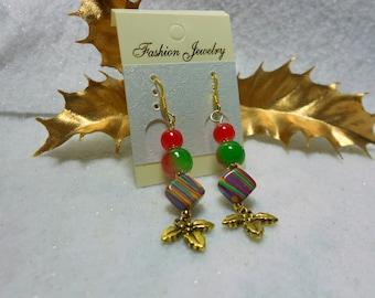 Christmas Earrings Festive Holiday Earrings
