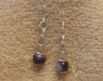 amythyst earrings