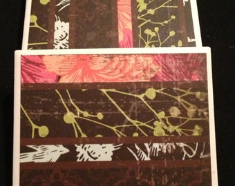 Decorative Tile Coaster