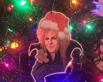 Jareth Labyrinth Christmas ornament