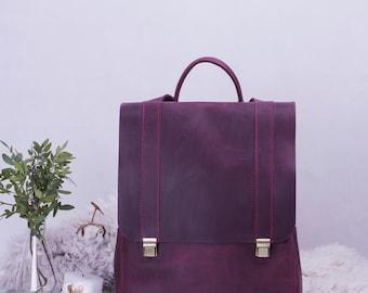 Leather Backpack, Travel Backpack, Handmade Backpack, Backpack For Women, Girls Backpack, Vintage Backpack, Monogram Backpack, Cool Backpack