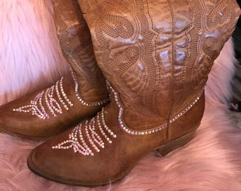 Swarovski  cowboy boots