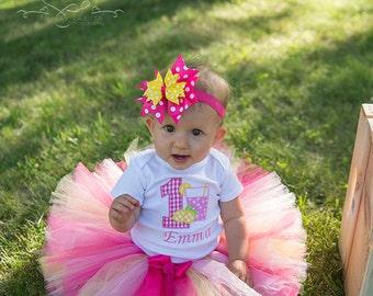 Pink Lemonade 1st Birthday Tutu
