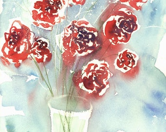 Fresh Pick  No.362, 11x15, limited edition of 50 fine art giclee prints from my original watercolor