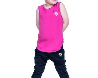 Pink tank top / Boys tank top / Boy clothing / Hipster toddler / Toddler tank / summer tank / Toddler shirt / Baby shirt / Toddler clothing