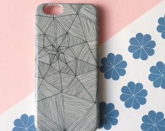 Web mobile phone case, iPhone X, iPhone 8, iPhone 7, iPhone 7 Plus, iPhone SE, iPhone 6/6S, iPhone 5/5S / illustrated case / iPhone 8 Plus