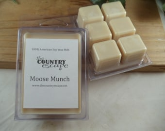 Moose Munch Scented 100% Soy Wax Melt - Mouth Watering Scent - Maximum Scented