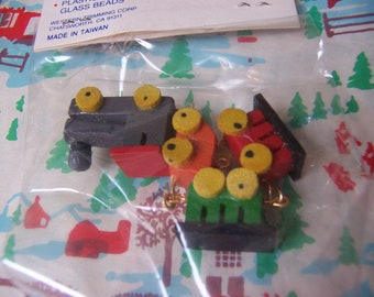 wee tiny wooden train