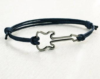 Guitar Bracelet, Music Bracelet (Many colors to choose)