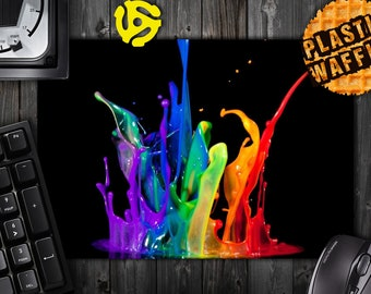 Paint Splash #1 Rectangle MousePad