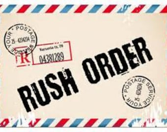 Rush Order for Listing Purchased