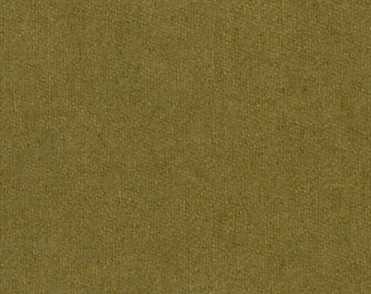Hand-dyed Olive Wool