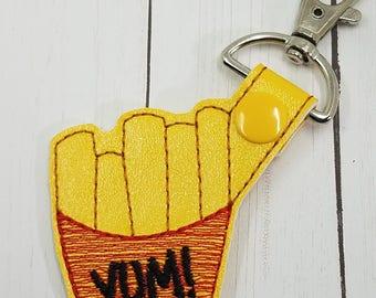 Yummy French Fries Key Chain/ Bag Tag