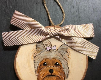 Custom Dog, Cat, Pet Christmas Ornaments; Holiday Gift for Animal Lovers