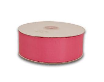 1.5 inch x 50 yds grosgrain ribbon - HOT PINK
