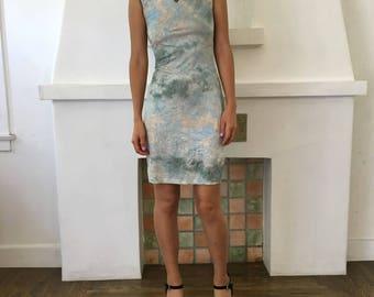 Dreamy Mandarin Collar Dress