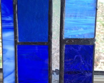 Blue stained glass #3