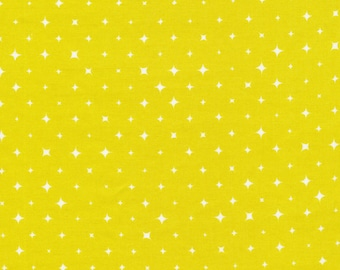Cloud9 We are all Stars Oasis - cotton fabric, organic Star (by 10cm)