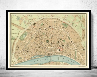 Cologne map Etsy
