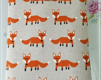 "Kindle Padded cover / Protective Sleeve for Kindle Paperwhite/Kindle Fire HD 6""/Kindle Oasis/Kindle Voyage/Handmade case/Fox/Orange Fox"