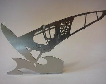 "wind surfers - ""Regatta"" - decorative object for the desktop"