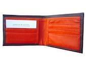 Portefeuille Pare-balles en Kevlar Marron / Orange