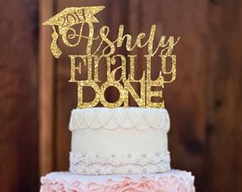 Graduation Cake Topper, graduation party decorations, congrats grad, graduation party, graduation decor, graduate, high school graduation