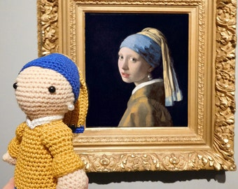 Girl with the pearl earring (girl with a Pearl Earring)