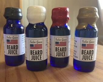 Sailor Goose Beard Juice, Beard Oil, Cool man gift, Husband gift, Beard products