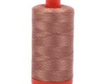 Aurifil Mako Cotton Thread Color 2340(Cafe' Au Lait), 50 wt, 1300m