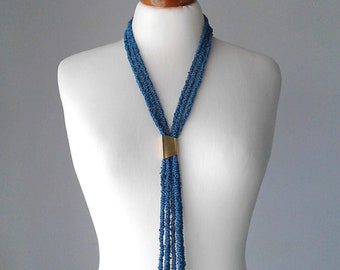 Rope necklace cord necklace long necklace statement boho long necklace long statement necklace extra long necklace layered necklace
