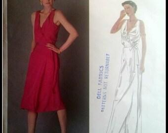 Vogue Designer Original  2565  RENATA  Misses' Dress Size 12  UNCUT