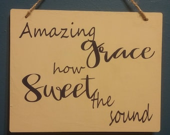 Amazing Grace Wall Hanging