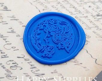 Buy 1 Get 1 Free - Wax Seal Stamp - 1pcs Byzantine Goddess Metal Stamp / Wedding Wax Seal Stamp / Sealing Wax Stamp (WS393)