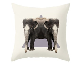 Elephants Pillow - Double Animals