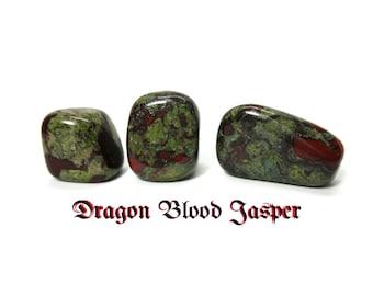 Dragon Blood Stone - Bastite - Polished