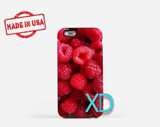 Raspberry iPhone Case, Fruit iPhone Case, Raspberry iPhone 8 Case, iPhone 6s Case, iPhone 7 Case, Phone Case, iPhone X Case, SE Case