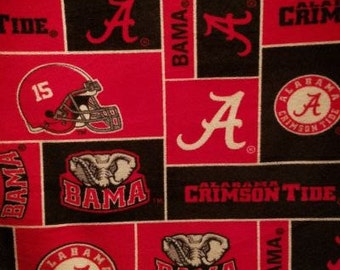 SPRING CLEARANCE Ready To Ship Alabama Crimson Tide Baby Minky Blanket