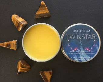 Muscle Relax Salve - Dandelion Muscle Rub