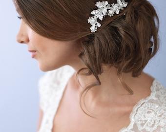 Vintage Wedding Hair Comb, Rhinestone Hair Comb, Bridal Headpiece, Bridal Hair Comb, Bride Hair Comb, Hair Comb for Wedding ~TC-2222