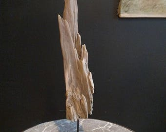 Driftwood sculpture